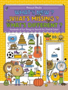 """"""" What's new , What's Different, What's Missing by Arnaud Boutin."""